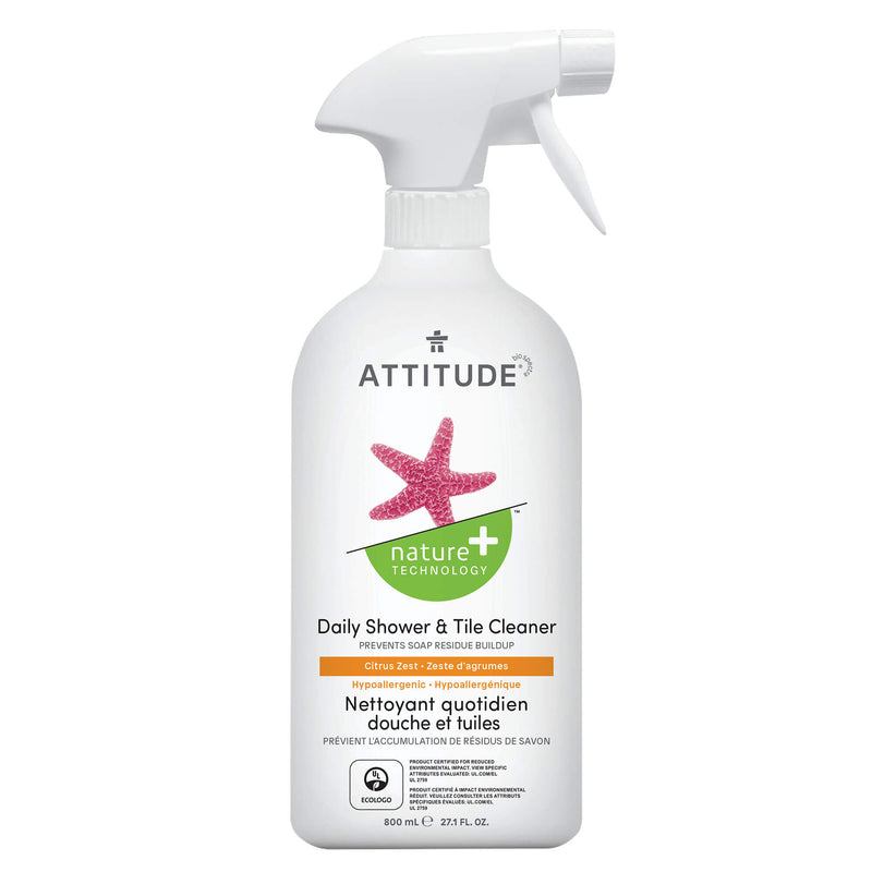 ATTITUDE Nature+ Daily Shower & Tile Cleaner Citrus Zest _en?_main?