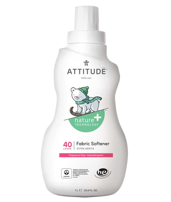 12143 ATTITUDE Fragrance-free Baby Fabric Softener - Hypoallergenic _en?_main?