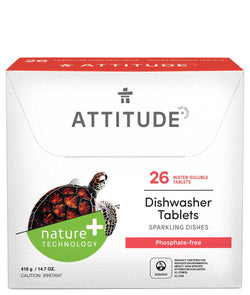 ATTITUDE Dishwasher Tablets - 26-count - Phosphate-free _en?_main?