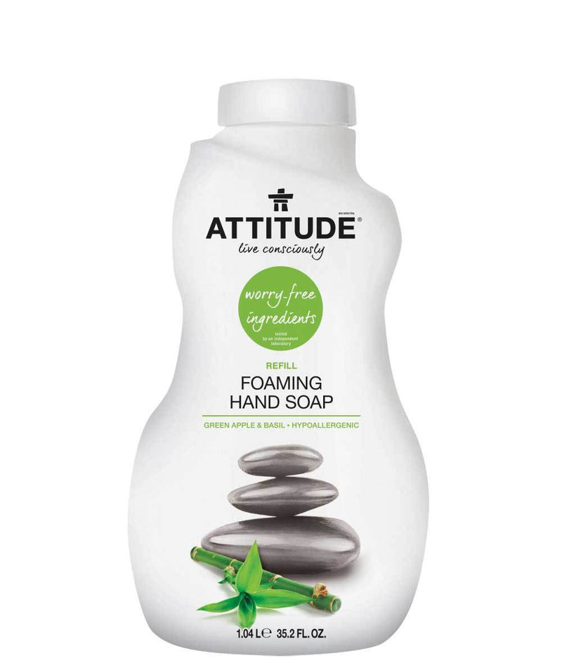 ATTITUDE Green Apple & Basil Foaming Hand Soap Refill _en?_main?