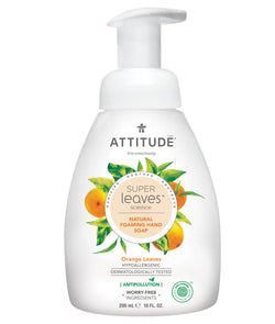 Super leaves™ Foaming Natural Hand Soap ATTITUDE, fragrance Orange Leaves _en?_main?