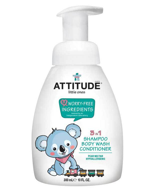 ATTITUDE little ones Baby 3-in-1 Foaming Shampoo Pear Nectar _en?_main?