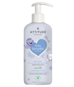 ATTITUDE baby leaves™ Natural Body Lotion Almond Milk _en?_main?