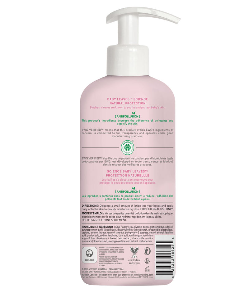 ATTITUDE baby leaves™ Natural Body Lotion Fragrance-free _en?_hover?