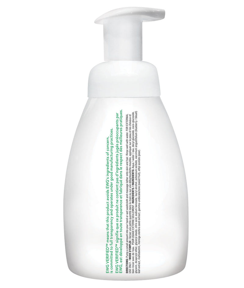 ATTITUDE baby leaves™ 2-in-1 Hair and Body Foaming Wash Pear Nectar _en?_hover?