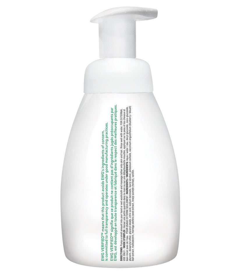 ATTITUDE baby leaves™ 2-in-1 Hair and Body Foaming Wash Almond Milk _en?_hover?