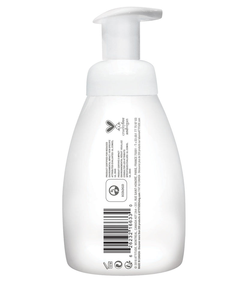 ATTITUDE baby leaves™ 2-in-1 Hair and Body Foaming Wash Almond Milk _en?_side?