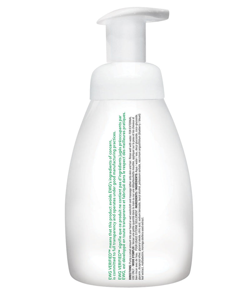 ATTITUDE baby leaves™ 2-in-1 Hair and Body Foaming Wash Fragrance-free _en?_hover?