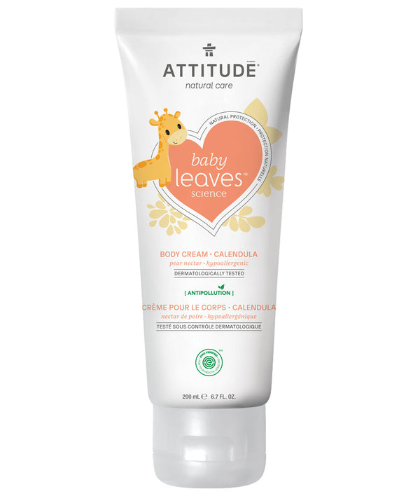 ATTITUDE baby leaves™ Calendula Natural Body Cream Pear Nectar _en?_main?