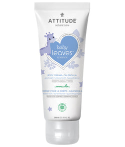 ATTITUDE baby leaves™ Calendula Natural Body Cream Almond Milk _en?_main?