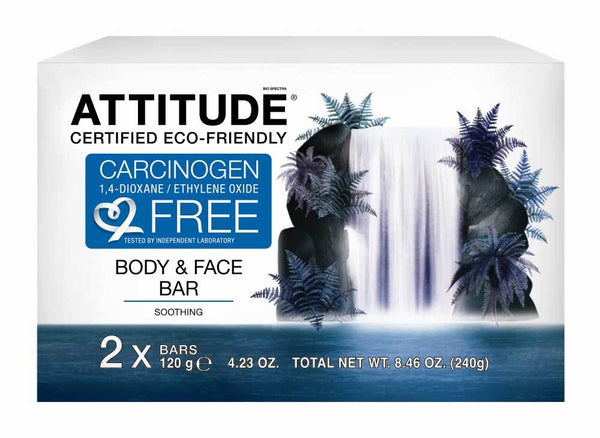ATTITUDE Soothing Body & Face Bar Soap _en?_main?