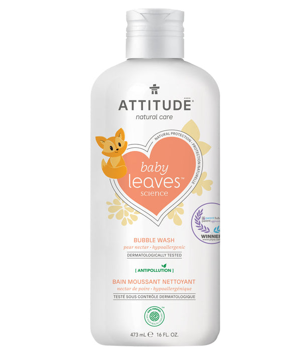 ATTITUDE baby leaves™ Natural Bubble Wash Pear Nectar _en?_main?