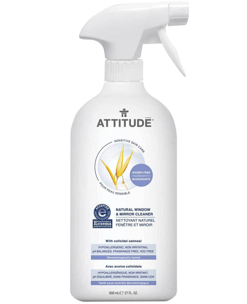 ATTITUDE Eczema Solution Window & Mirror Cleaner Fragrance-free _en?_main?