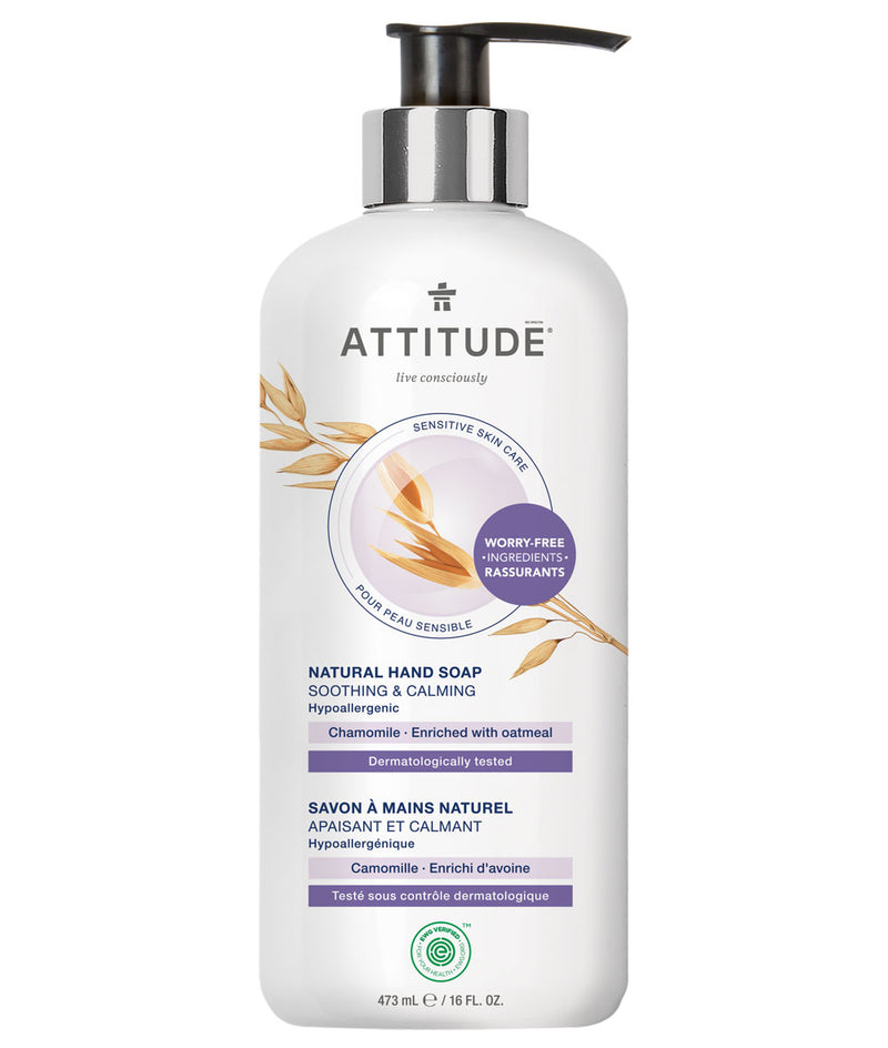 ATTITUDE Sensitive skin Soothing & Calming Hand Soap Chamomile _en?_main?