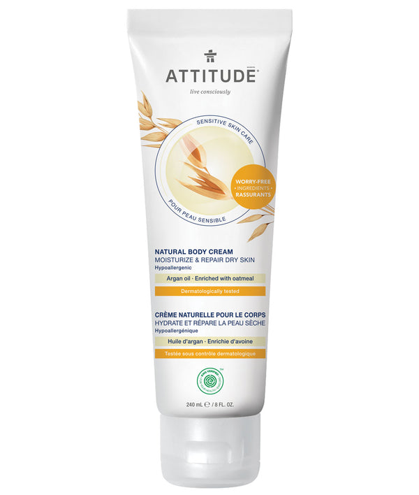 ATTITUDE Sensitive skin Moisturize & Repair Dry Skin Body Cream Argan oil _en?_main?