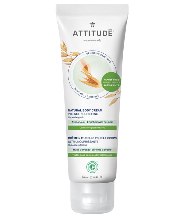 ATTITUDE Sensitive skin Intense Nourishing Body Cream Avocado oil _en?_main?