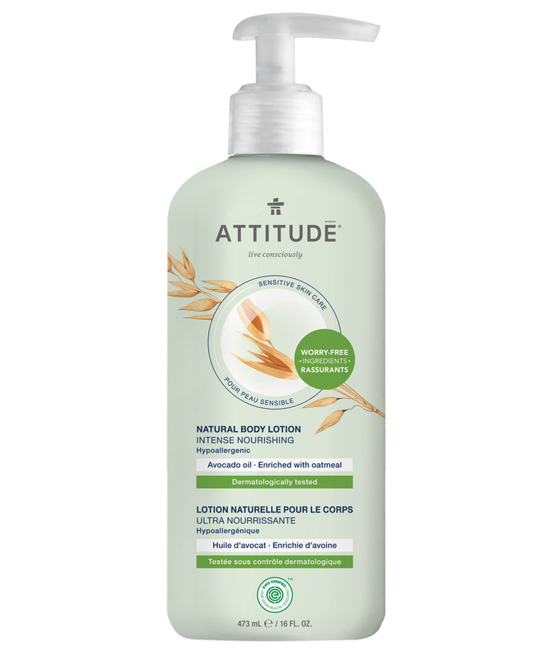 ATTITUDE Sensitive skin Intense Nourishing Body Lotion Avocado oil _en?_main?