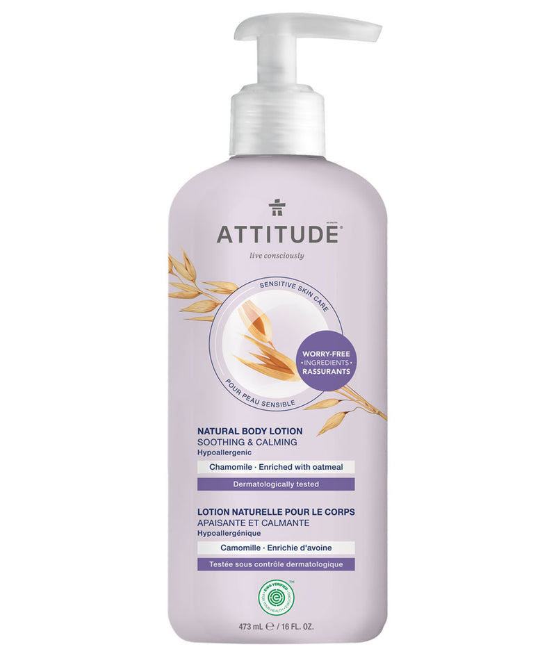 ATTITUDE Sensitive skin Soothing and Calming Body Lotion Chamomile _en?_main?
