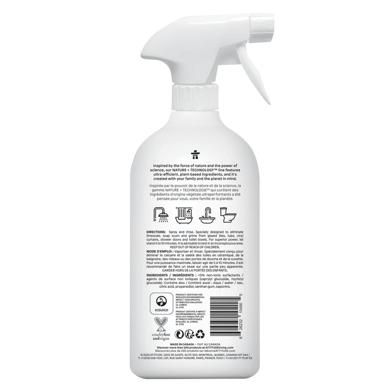 ATTITUDE Nature+ Bathroom Cleaner Unscented 10490_en?_back?