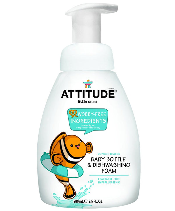 Fragrance-Free Foaming Baby & Bottle Dish Soap I ATTITUDE_en?_main?