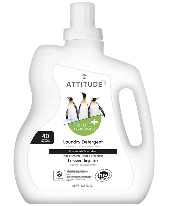 ATTITUDE Nature+ Laundry Detergent Unscented 12043_en?_main?