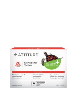 Eco-friendly Dishwasher Tablets - 26 Eco-Doses I ATTITUDE_en?_main?