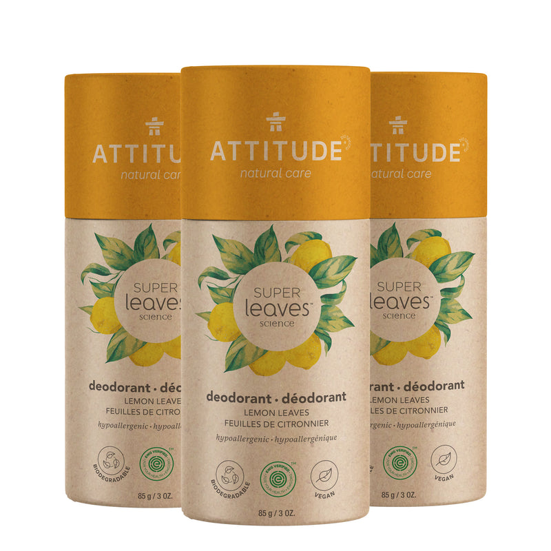 Bundle of 3 Biodegredable Deodorant Lemon Leaves _en?_bundle?