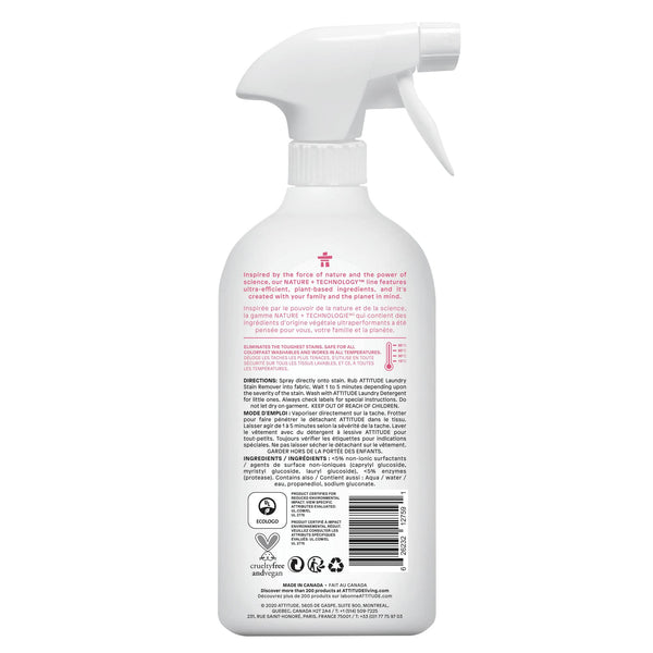 Baby Stain Remover Spray Nature+ Fragrance-free _en? _hover?