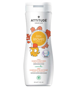 11018- ATTITUDE Little Leaves 2-in-1 Shampoo and Body Wash Mango for kids Hypoallergenic EWG Verified_en?_main?