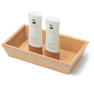Canted Tray - Bamboo