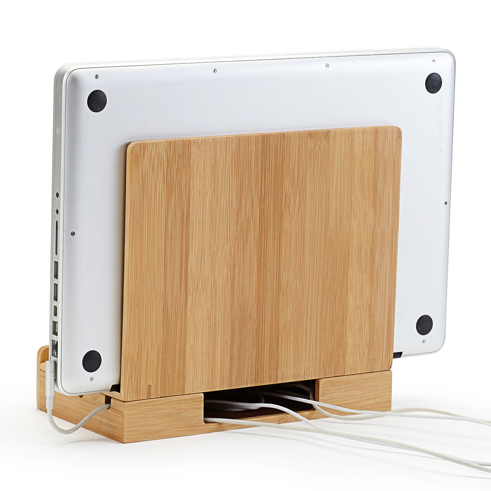 Multi-Device Charging Station Bamboo - Customized
