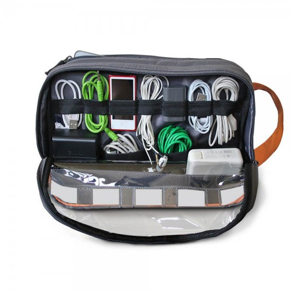 2-Sided Cord and Cable Organizer