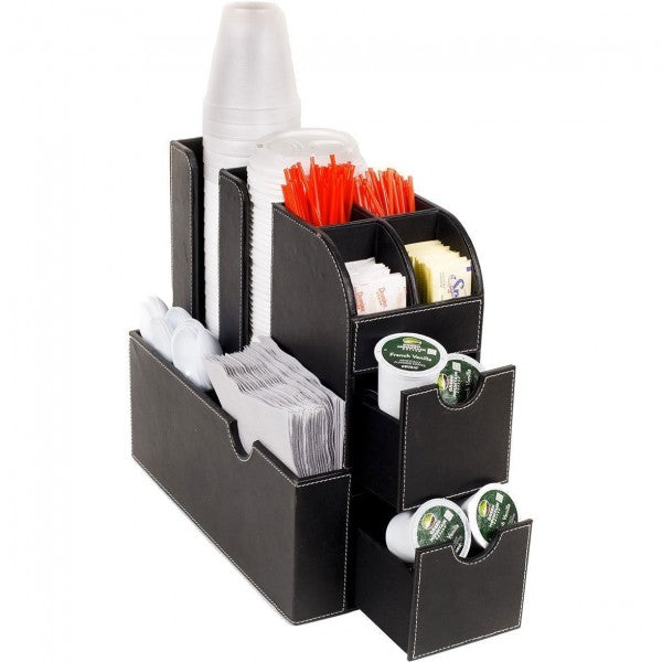 Coffee & Tea Caddy and Organizers - All-In-One Caddy