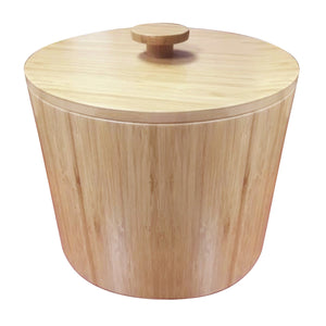 Round Ice bucket - Bamboo