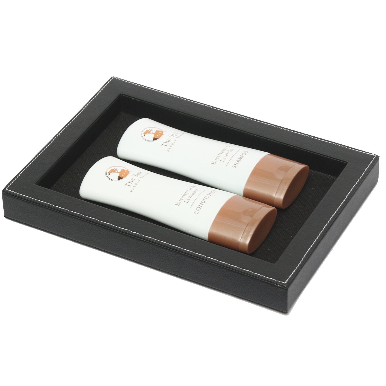 Framed Tray - Black Leatherette