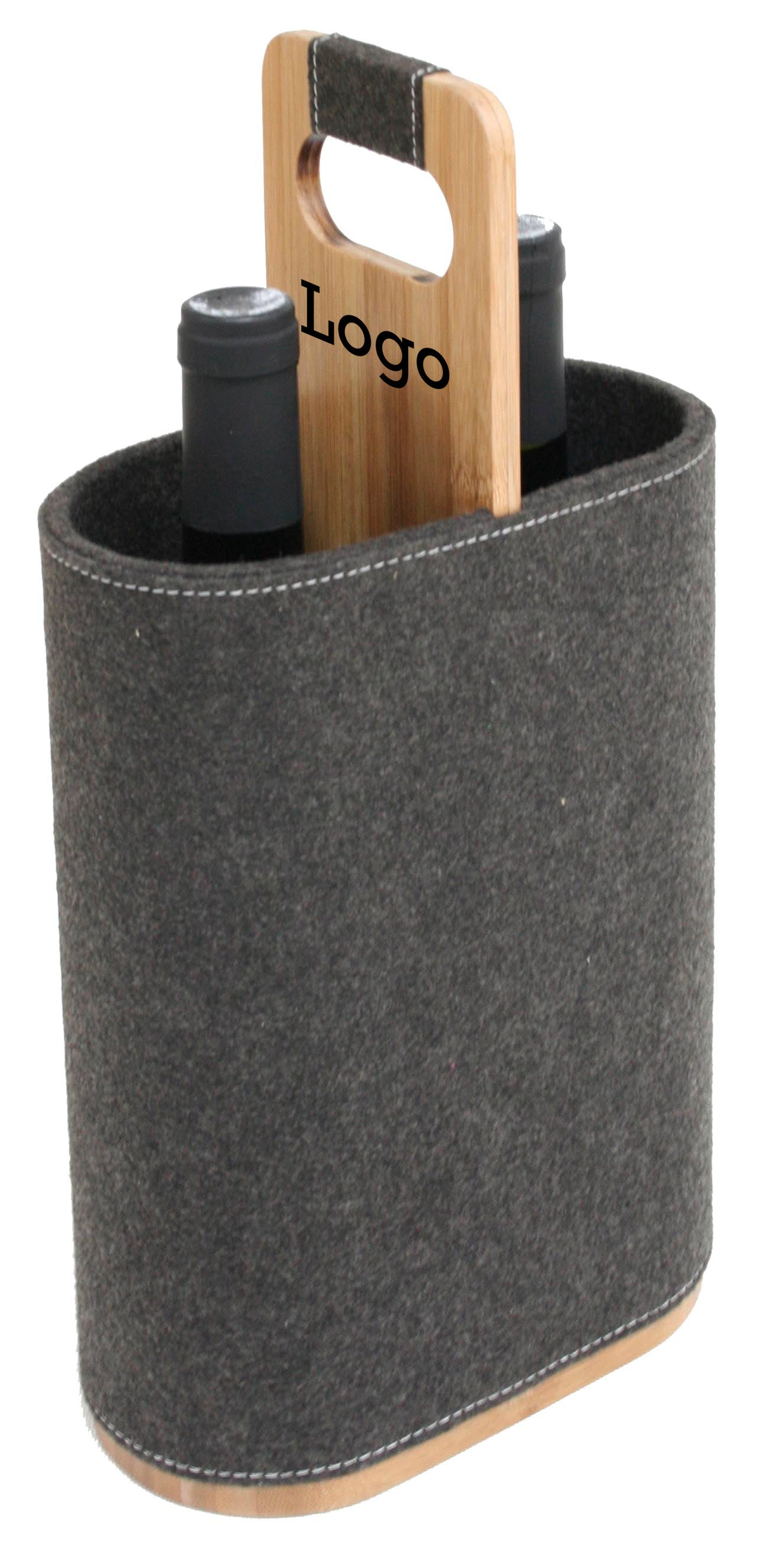 Bamboo Duo Wine Carrier