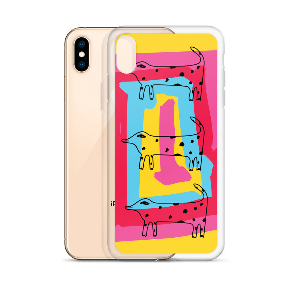 Weird Dog iPhone Case (iPhone 6s/6s Plus, iPhone 6/6s, iPhone 7/8, iPhone X/XS, iPhone XR, i Phone XS Max)