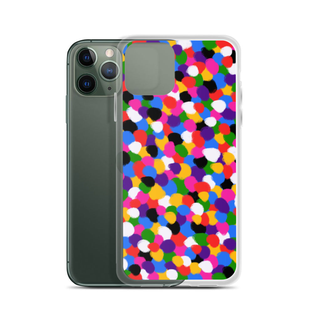 Colorful Dots iPhone Case