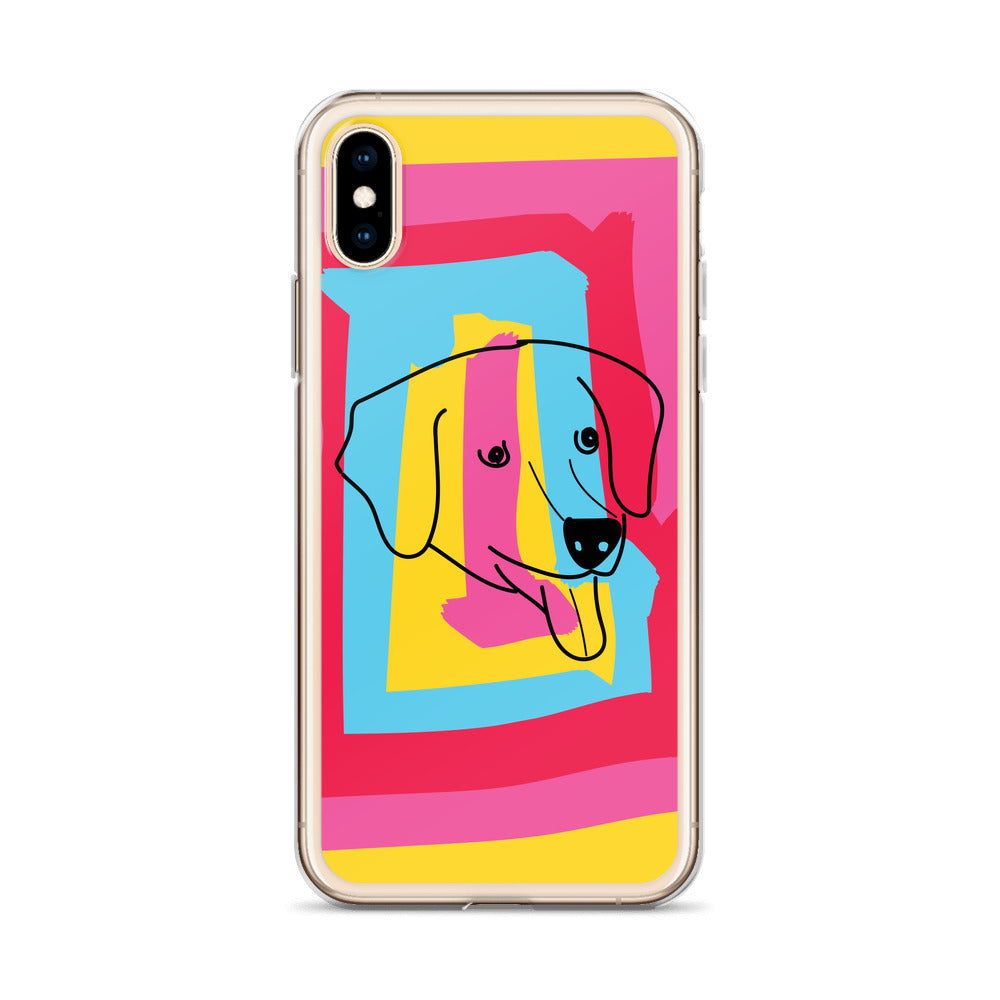 Golden Retriever Airbud iPhone Case (iPhone 6s/6s Plus, iPhone 6/6s, iPhone 7/8, iPhone X/XS, iPhone XR, iPhone XS Max)