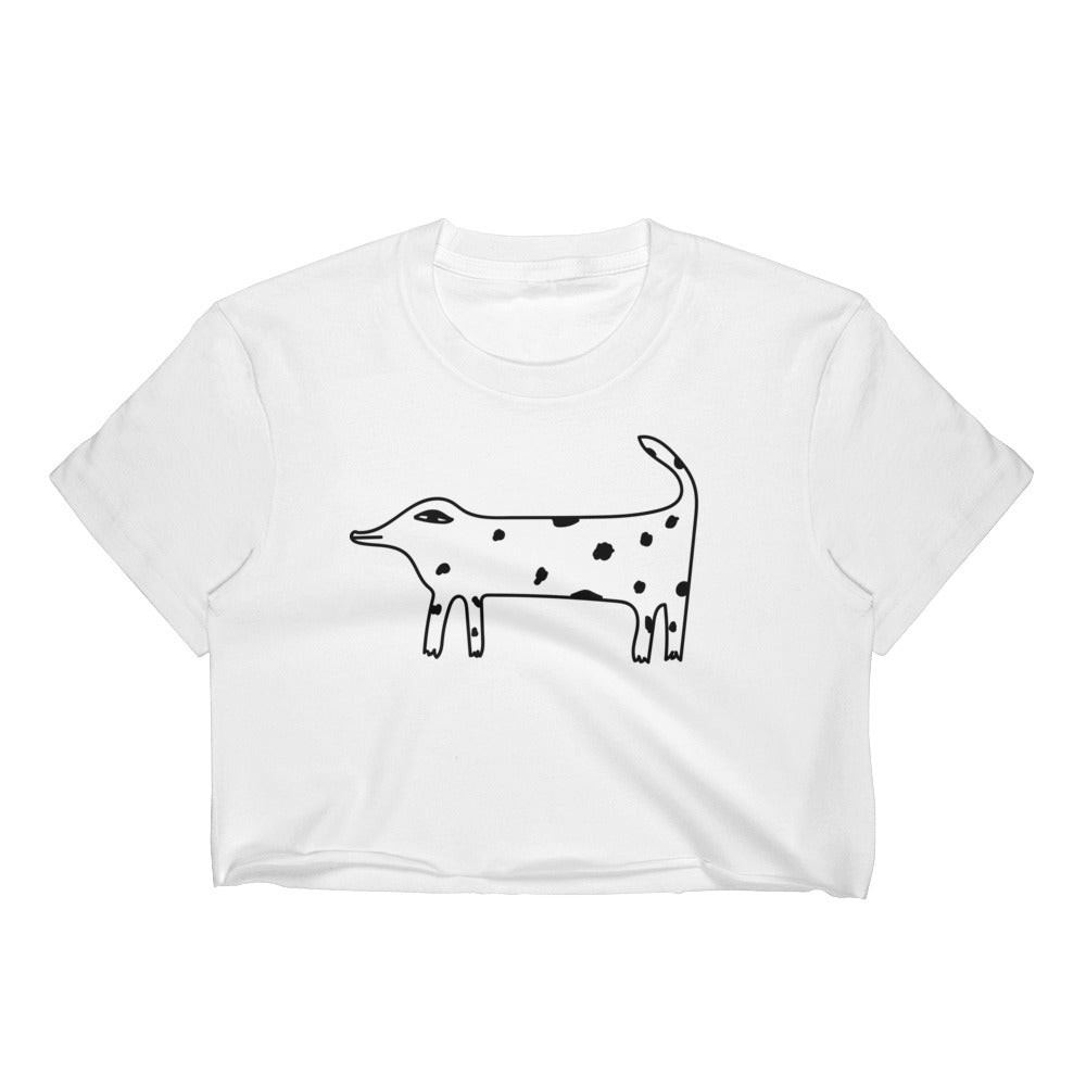 Weird Dog Crop Top