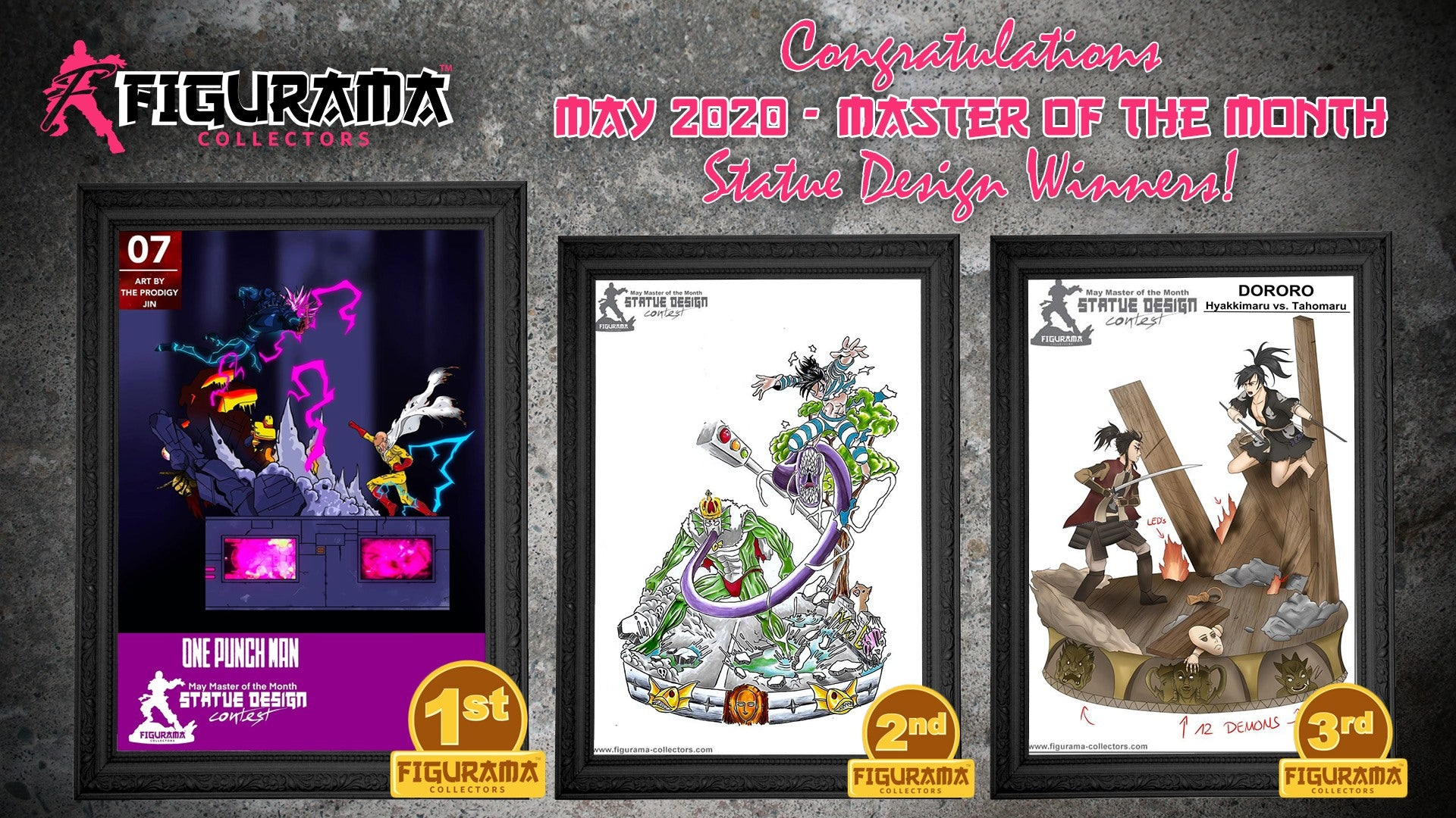 Statue Design Contest Winners Announced!