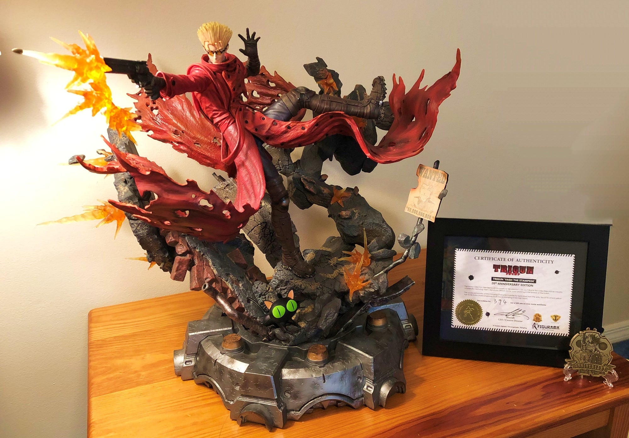 Collector Reviews: Trigun Vash 20th Anniversary Edition