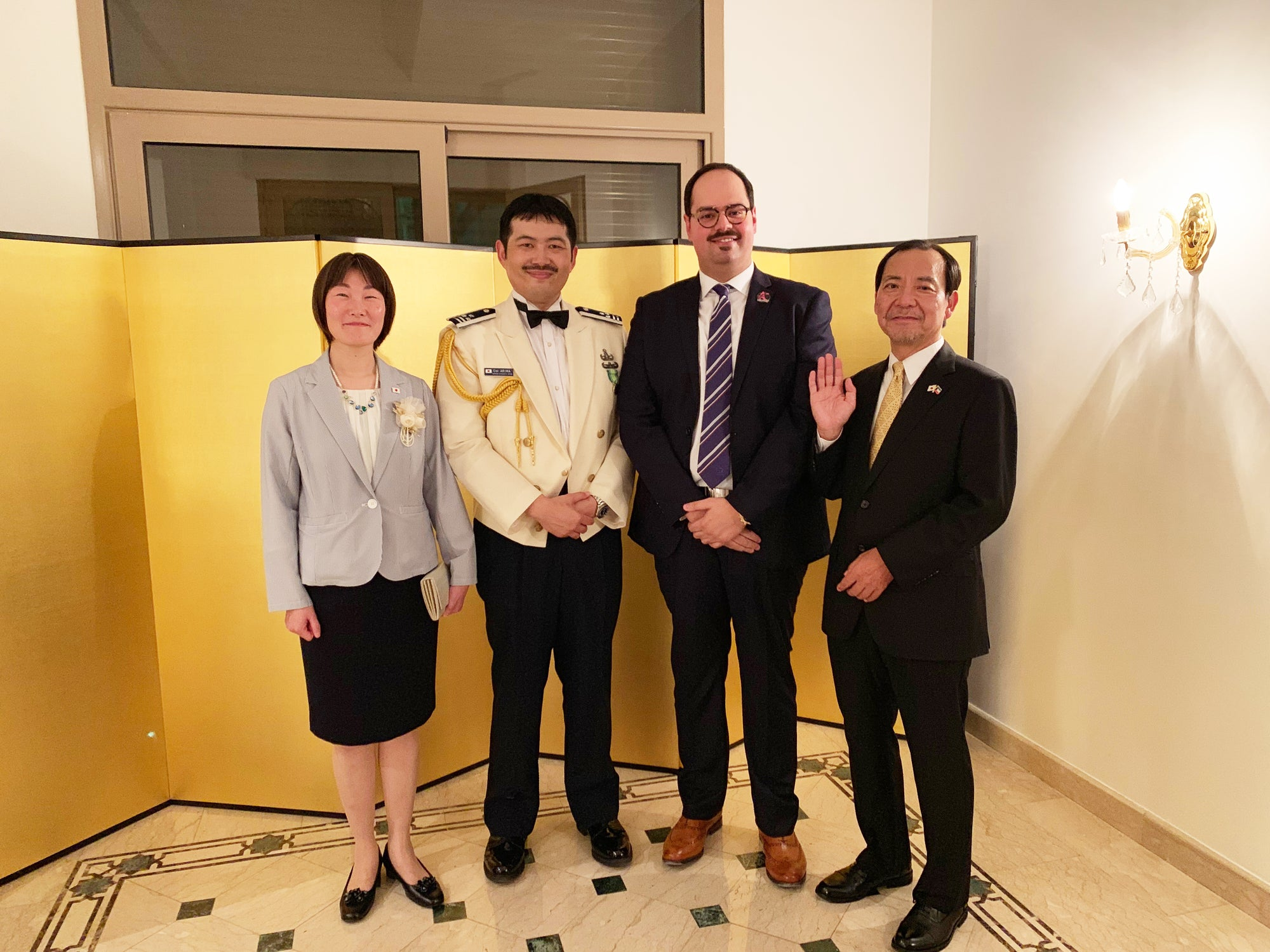 Figurama Collectors CEO, Mr. Shanab, Honored with Invitation to 65th JSDF Day Reception