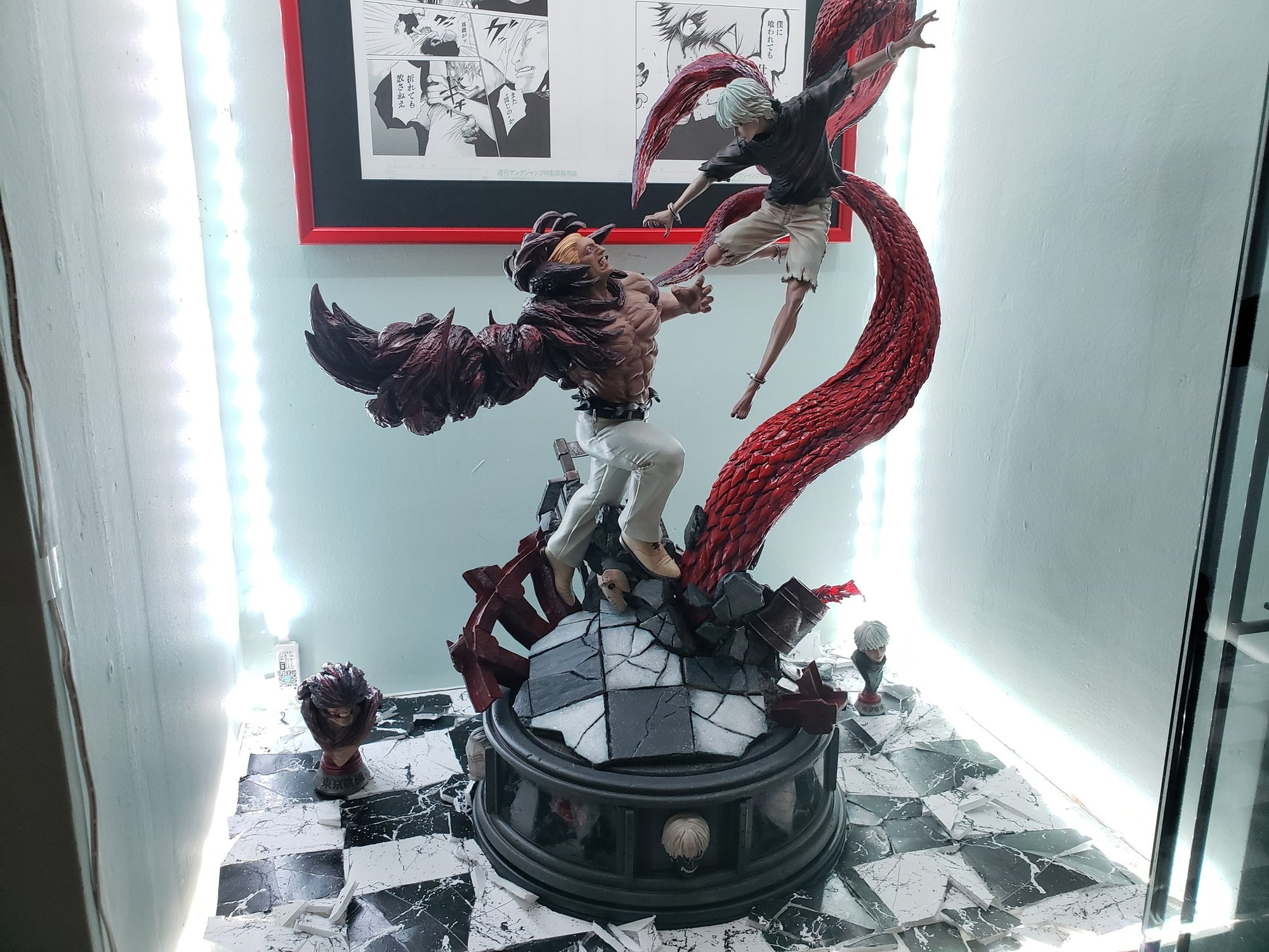 Figurama Collectors Kaneki VS Yamori Review