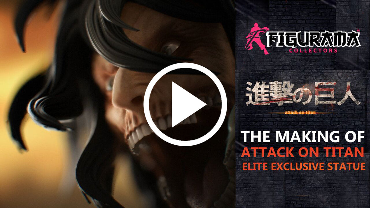 The Making of the Attack on Titan Elite Exclusive Statue