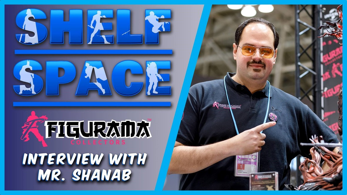 Figurama Collectors CEO, Shanab, Guest Appearance on Shelf Space