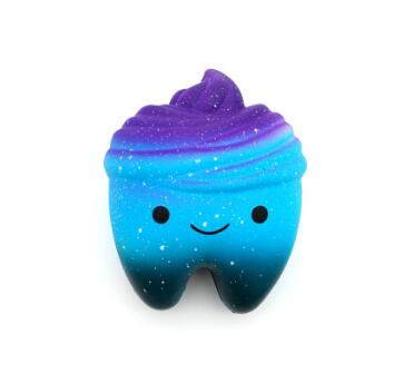 Cute Super Hero Squishy Stress Relief Toy
