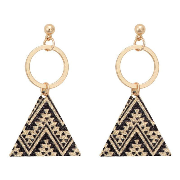 European Alloy E-Plating Anniversary Earrings