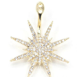 Shining Snowflake Earring for Women(for one)
