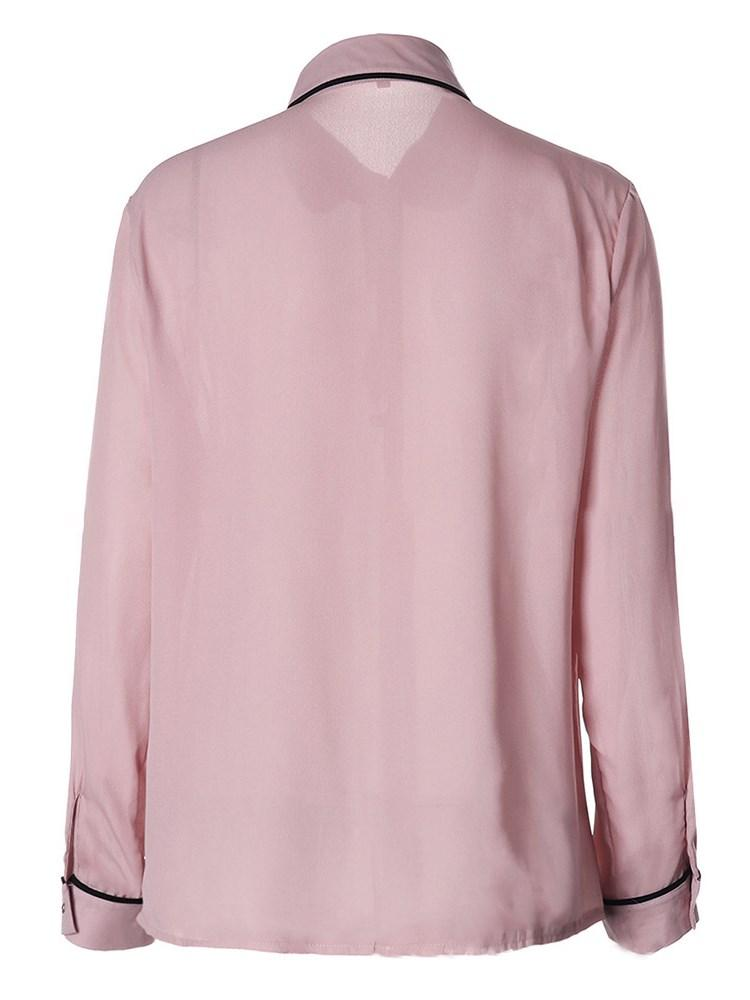 Women's Chiffon Long Sleeve Blouse